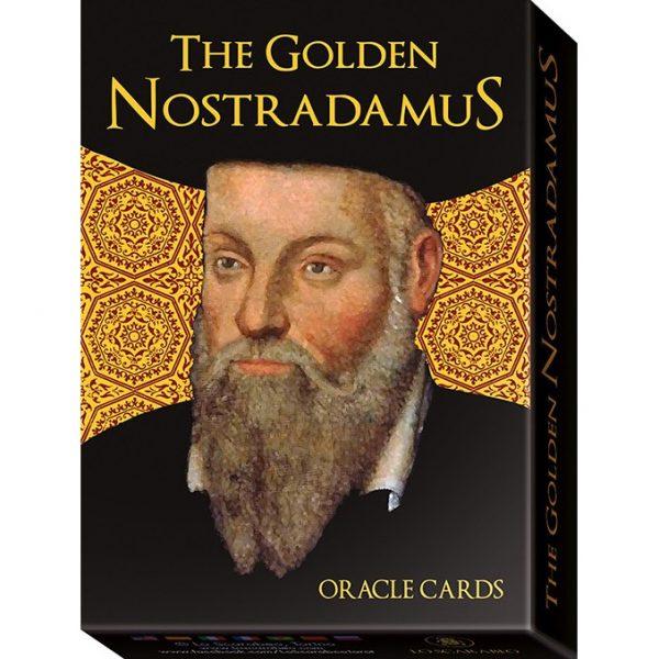 Golden Nostradamus Oracle Cards