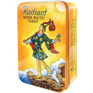 Radiant Rider-Waite Tarot - Tin Edition