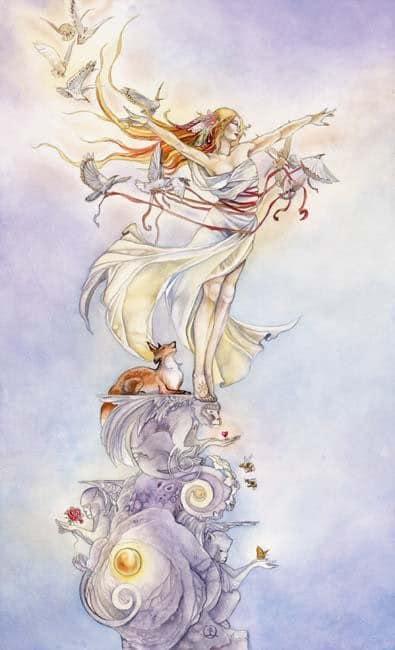 Cảm Nhận Lá Bài The Fool Trong Shadowscapes Tarot 1
