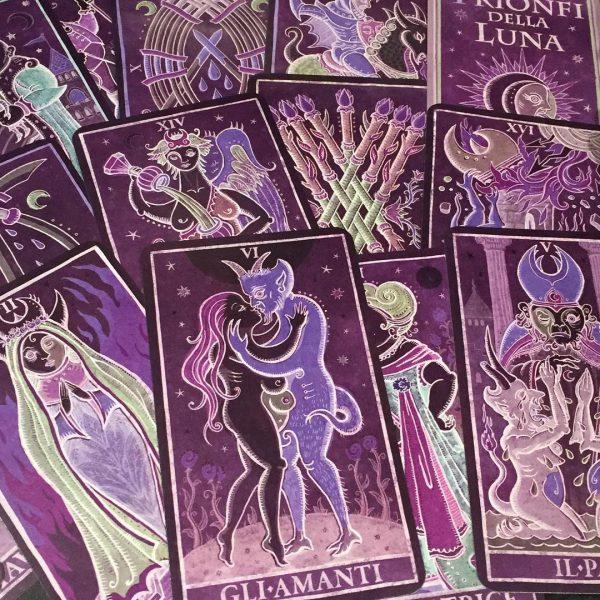 333 Tarot Trionfi dela Luna (Paradoxical Purple Limited Edition)