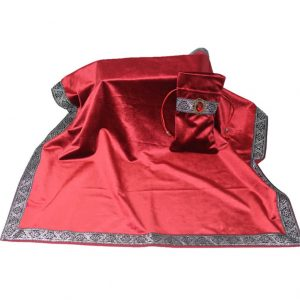 Khăn & Túi Tarot Art Nouveau Scarlet Red (Đỏ)