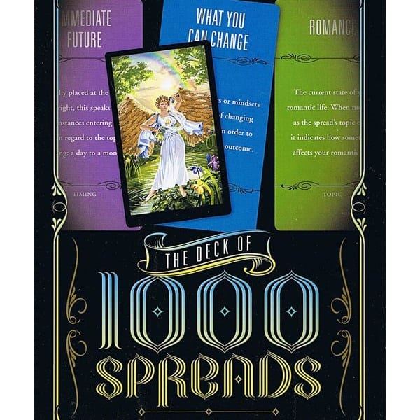 Deck of 1000 Spreads: Your Tarot Toolkit for Creating the Perfect Spread for Any Situation Cards