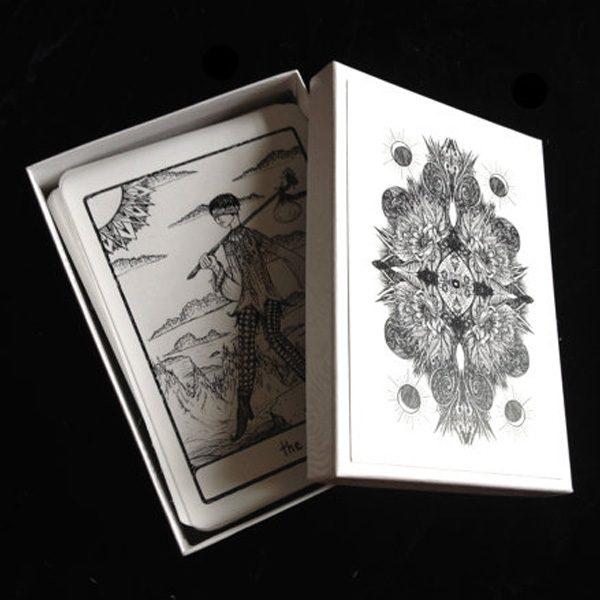 Efflorescent Tarot - Black and White