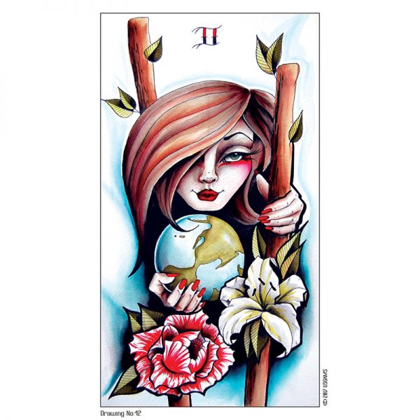 Eight Coins Tattoo Tarot