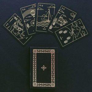 Golden Thread Lenormand