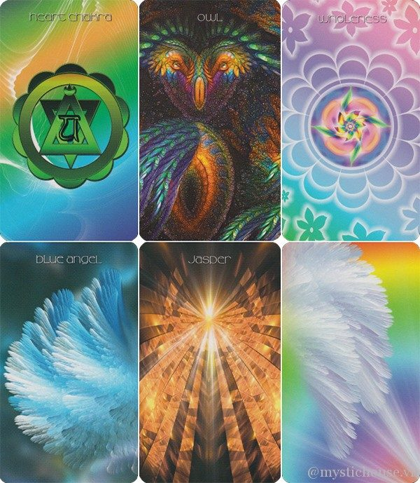 Healing Light and Angel Cards: Working with Your Chakras