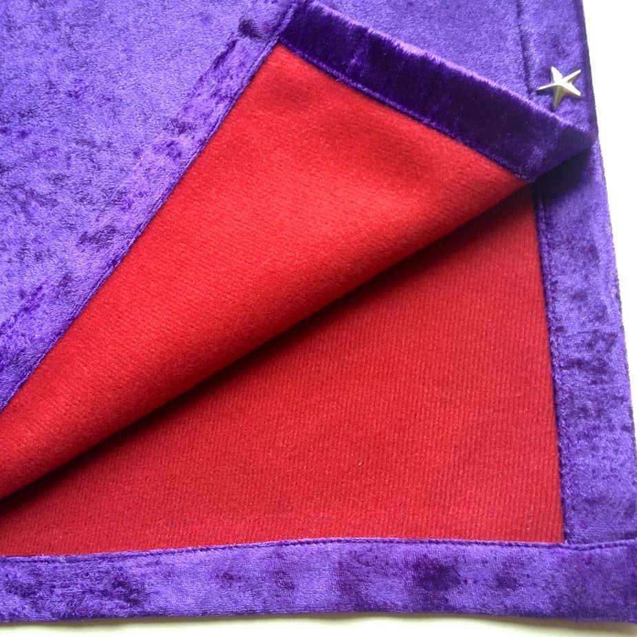 Khăn Trải Bài Tarot Royal Purple (Tím)