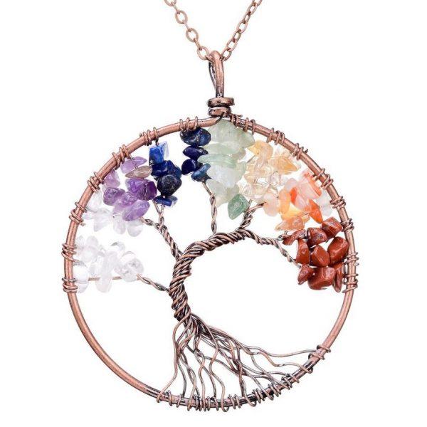 Mặt Dây Chuyền Tree of Life Chakra