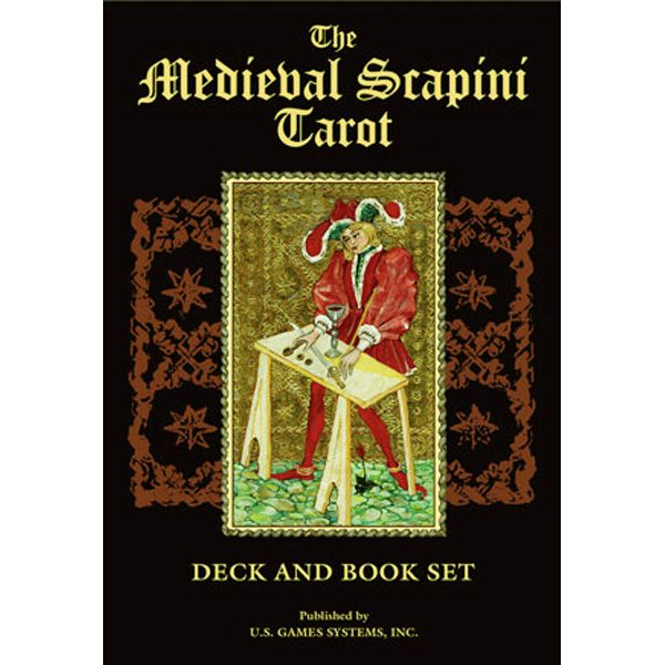 Medieval Scapini Tarot - Bookset Edition