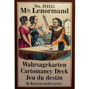 Mlle Lenormand Cartomancy Deck