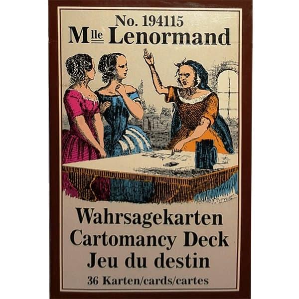 Mlle Lenormand Cartomancy Deck