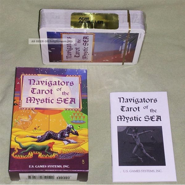 Navigators Tarot of the Mystic Sea