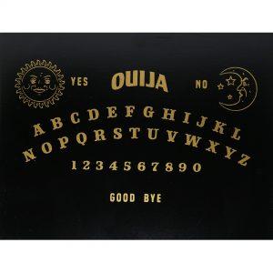 Hộp Gỗ Đen Ouija Đựng Bài Tarot