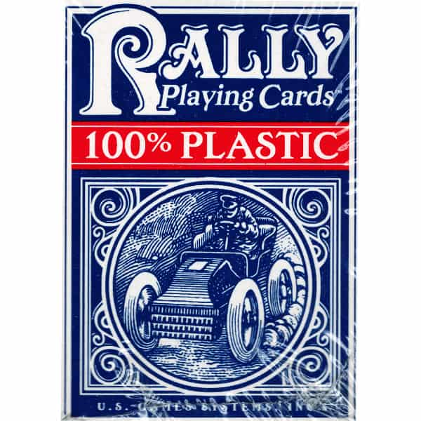 Plastic Rally Playing Cards