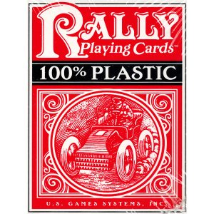 Plastic Rally Playing Cards (Đỏ)