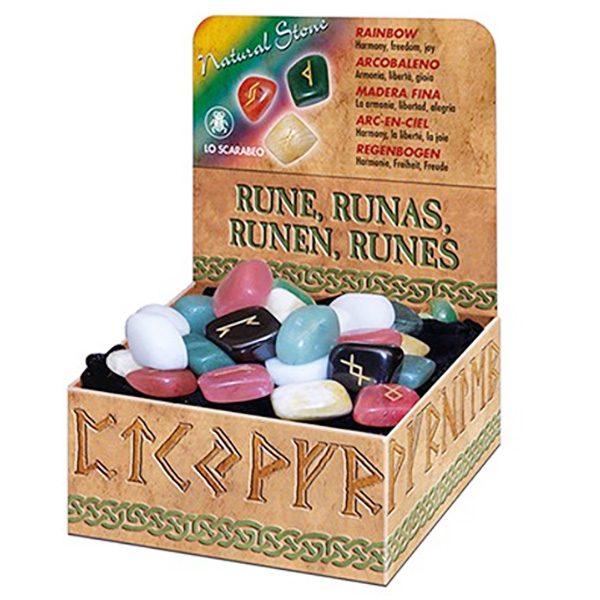 Bộ Đá Rainbow Runes 4 Nguyên Tố