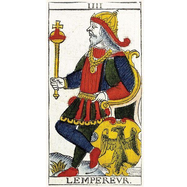 Tarot de Marseille Pierre Madenié 1709