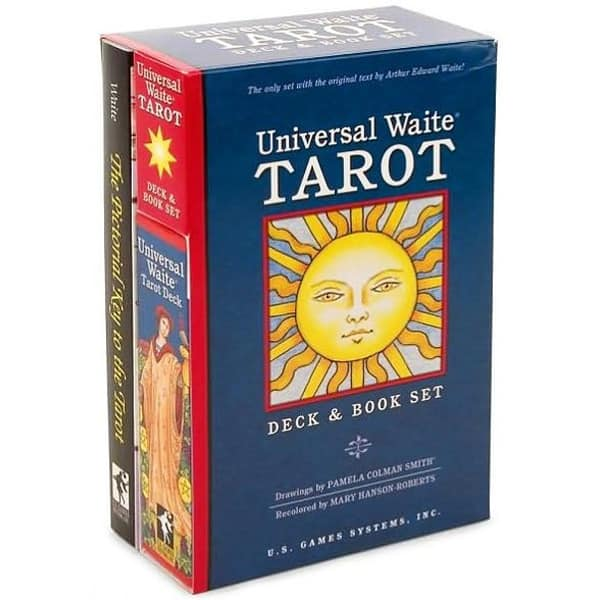 Universal Waite Tarot - Bookset Edition