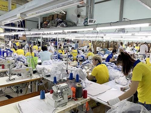 Review may áo thun tại xưởng may Dony 1